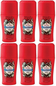 6 x 50ml Old Spice Wild Collection Wolfthorn Anti Perspirant Roll On Deodorant
