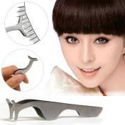 Fashion Gallery False Eyelashes curler Extension lash mascara Applicator Remover steel Tweezers Clip para Makeup Tool