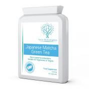 Japanese Matcha Green Tea 500mg 60 Capsules - Pure , Potent Antioxidant & Weight Management Supplement