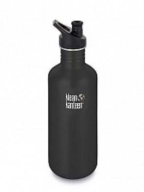 Klean Kanteen Stainless Steel Classic Bottle 1182ml (shale black)