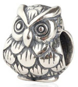 Owl Fit Pandora Troll Chamilia Style Bracelets By Truly Charming® or similar 100% 925 Sterling Silver Pendant Necklace