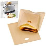 Reusable Toaster Bag Sandwich Bags Non Stick Bread Bag Toast Heating Food Bag