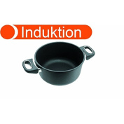 Gundel Frying PaN Suitable for Induction Cookers Diameter 20 CM Height 11 CM Titanium / Ceramic Surface with Ovenproof Griffe