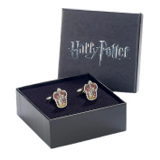 Official Warner Bros. Harry Potter Gryffindor Crest Silver Plated Cufflinks