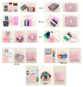 EQLEF® 6pcs Travel Luggage Organiser Bag Set Kosmetischer Storage Pouch Clothing Storage Bag