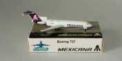 Schabak Boeing 727-264A Mexicana - Red Tail XA-MXC in 1:600 scale