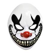 Adults Halloween Freak Show Clown Mask Fancy Dress Accessory