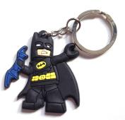 Lego Movie Batman High Quality PVC Pirate Keychain Bagcharm Keyring