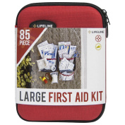 Lifeline 568206 Hard-Shell Foam First Aid Kit Small - 30 Piece
