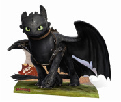 Empire Merchandising 663962 Dragons, How to train your Dragon 2, Toothless Cardboard Cut-Out, circa 137 cm