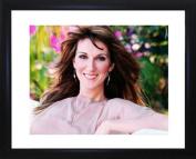 Celine Dion Framed Photo