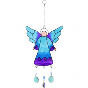 Jones Home and Gift Angel with Nuggets Suncatcher, Multi-Colour, 27 cm