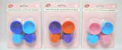 Silicone Mini Cup Cake Moulds 4.5cm 12/Pk (KC0088) *One Pack Supplied - Colour may vary*