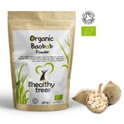 ORGANIC Baobab Powder   Premium Quality Pure Baobab Superfruit Powder   High in Fibre and Vitamin C   250g Pouch   Baobab Powder by TheHealthyTree Company