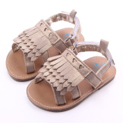 Infant Toddlers Boys Girls Summer Beach Tassel Sandals First Walkers Shoes by FEITONG
