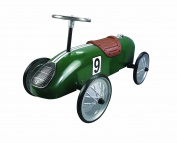 Great Gizmos Green Retro Racer Ride On