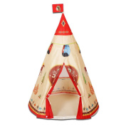 LIVEBOX Foldable Pop Up Children Playhouse/Castle/Tent/Den Perfect for Indoor & Outdoor Use Play Tent with Zippered Storage Bag -