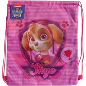 PAW Patrol Pink Skye Drawstring School Sports Gym & Swimming Bag