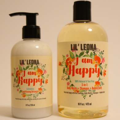 Best Baby Shampoo and Conditioner by Lil Leona: Cleansing conditioner and cowash for kids' hair.