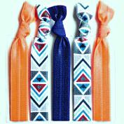 Bohemian Jewellery Hairbands Aztec - Luxury Kink Free Pony Tail Holders