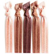 Bohemian Jewellery Hairbands Autumn - Luxury Kink Free Pony Tail Holders