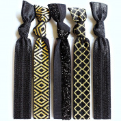 Bohemian Jewellery Hairbands Glam - Luxury Kink Free Pony Tail Holders