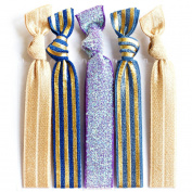 Bohemian Jewellery Hairbands Honey - Luxury Kink Free Pony Tail Holders