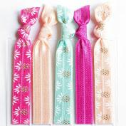 Bohemian Jewellery Hairbands Pina Colada - Luxury Kink Free Pony Tail Holders