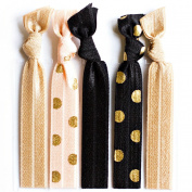 Bohemian Jewellery Hairbands :Polka - Luxury Kink Free Pony Tail Holders