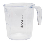 MayaBeauty Diane Fromm Handle Measuring Cup 240ml Clear DAA028