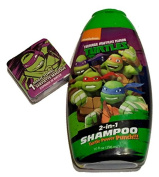 Turtle Power Punch 2 in 1 Conditioning Shampoo and Magic Washcloth TMNT Teenage Mutant Ninja Turtles