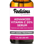 BEST VITAMIN C Serum for Face. Top Anti Wrinkle, Anti ageing , Repairs Dark Circles, Fade Age Spots and Repair Sun Damage.20% organic Vit C + E + Hyaluronic Acid.30ml