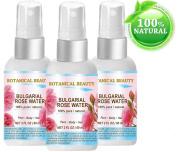 BULGARIAN ROSE WATER 100% Pure / Natural / Undiluted. Facial Toner, 2 oz.- 60 ml.