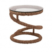 IMAX 89916 Bedford Jute Rope Accent Table