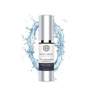Vitamin C, Hyaluronic Acid and Tri Peptide Complex Rejuvenating Facial Serum - Anti-ageing Organic Moisturising Wrinkle Cream