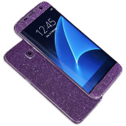 for Samsung Galaxy S7 Case,AutumnFall Luxury Bling Glitter Hard Back Film Case Cover for Samsung Galaxy S7