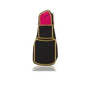 Lipstick Pop Canvas Makeup Bag by Emma Lomax