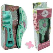 Detangler Brush & Comb and Paddle Brush Gift Set by Bella & Bear