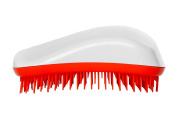 Dessata Detangling Hairbrush White- Tangerine