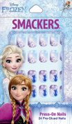 Smackers Disney Frozen Press-On Nails, 24 Count