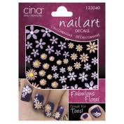 Fabulous Floral Nail Art 3-D Decals