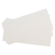 Westcott Letter Craft Removable Vinyl Lettering, Parchment, 2.5cm , White