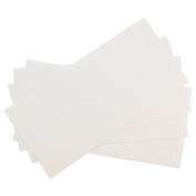 Westcott Letter Craft Removable Vinyl Lettering, Parchment, 5.1cm , White
