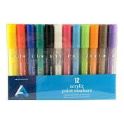 Art Alternatives Acrylic Marker 2Mm Pk/12