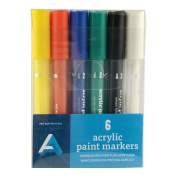 Art Alternatives Acrylic Marker 2Mm Pk/6