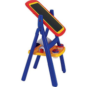 Durable Plastic with Freestanding Easel features and vigorous artistic endeavour,Children's Flip 2-sided Easel