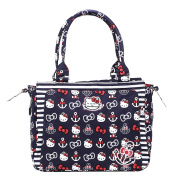 Ju-Ju-Be Be Classy Structured Handbag Nappy Bag - Hello Kitty Out to Sea