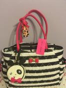 Betsey Johnson Nappy Bag w/ changing pad Baby Shoulder Handbag