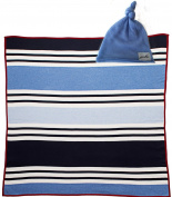 Blanket & Hat GIFT SET - 100% cashmere and 100% organic cotton