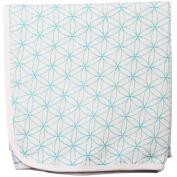 Roxie's Baby Everything Blanket & Keepsake Gift Bag Set, 100% Muslin, Turquoise